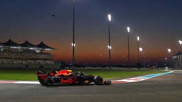 Daniel Ricciardo - Red Bull - GP Abu Dhabi 2018
