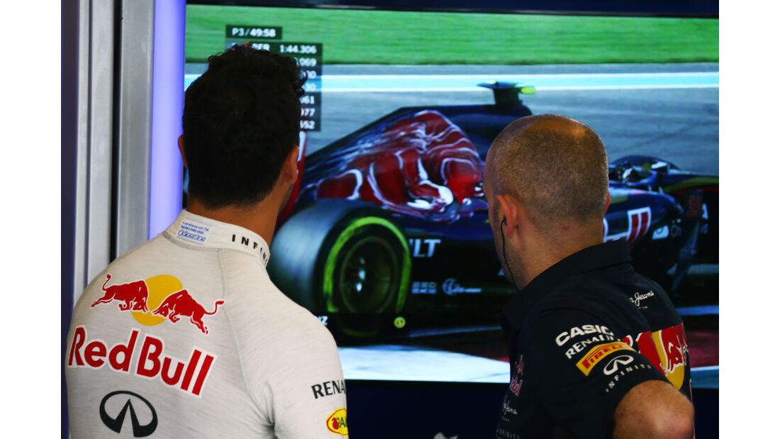 Daniel Ricciardo - Red Bull - GP Abu Dhabi - 28. November 2015