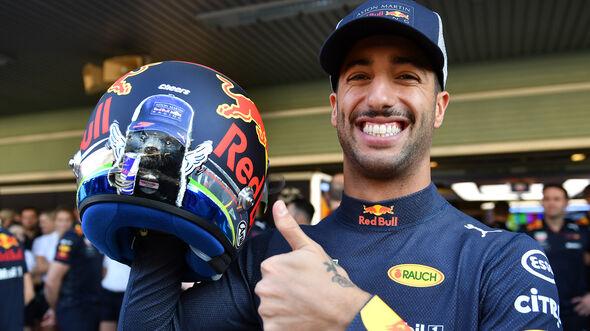 Daniel Ricciardo - Red Bull - GP Abu Dhabi - Formel 1 - 22. November 2018