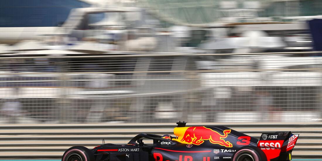 Daniel Ricciardo - Red Bull - GP Abu Dhabi - Formel 1 - 23. November 2018