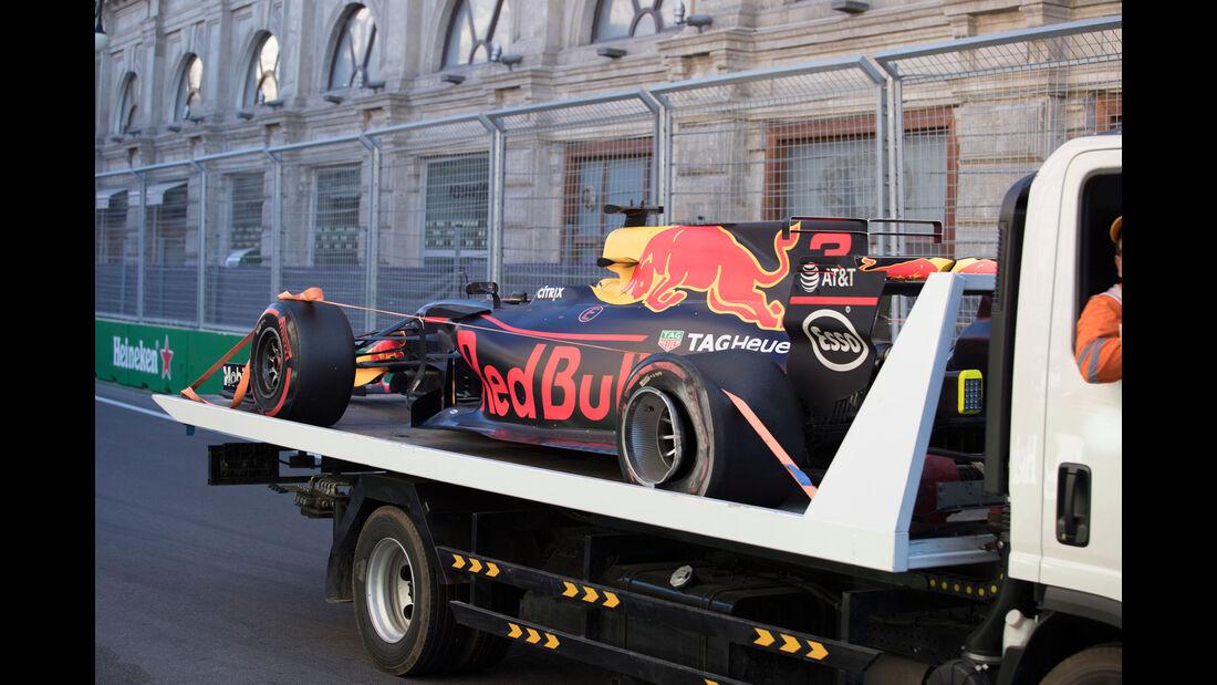 Daniel Ricciardo - Red Bull - GP Aserbaidschan 2017 - Qualifying - Baku - Samstag - 24.6.2017