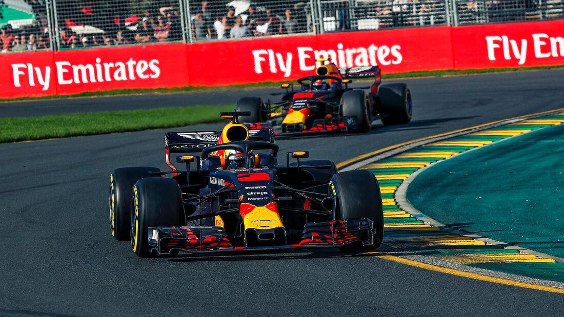 Daniel Ricciardo - Red Bull - GP Australien 2018