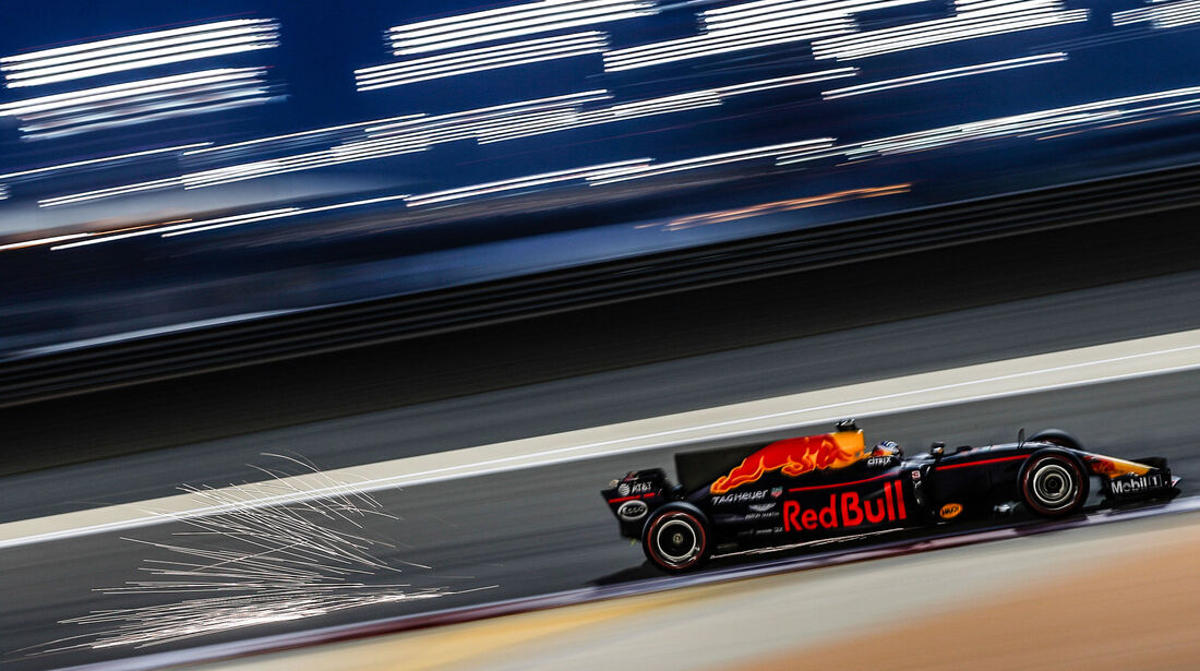 Daniel Ricciardo -Red Bull - GP Bahrain 2017 - Qualifying