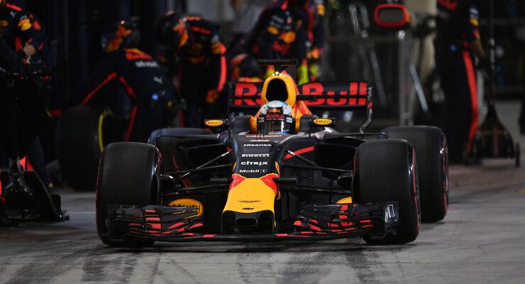 Daniel Ricciardo - Red Bull - GP Bahrain 2017 - Rennen