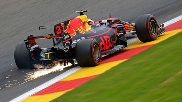 Daniel Ricciardo - Red Bull - GP Belgien - Spa-Francorchamps - Formel 1 - 25. August 2017