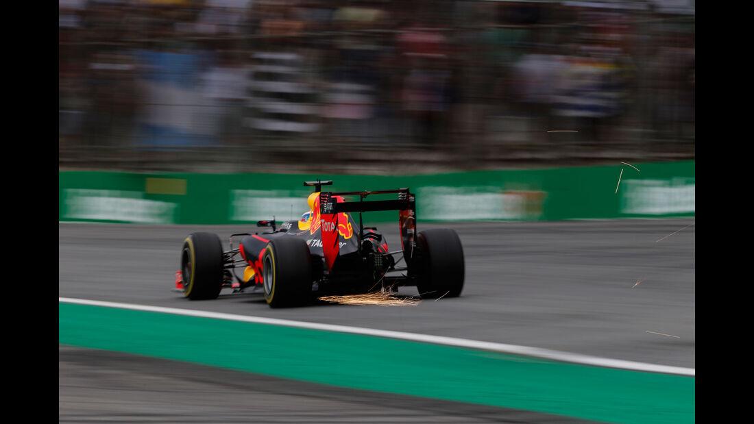 Daniel Ricciardo - Red Bull - GP Brasilien 2016 - Interlagos - Qualifying