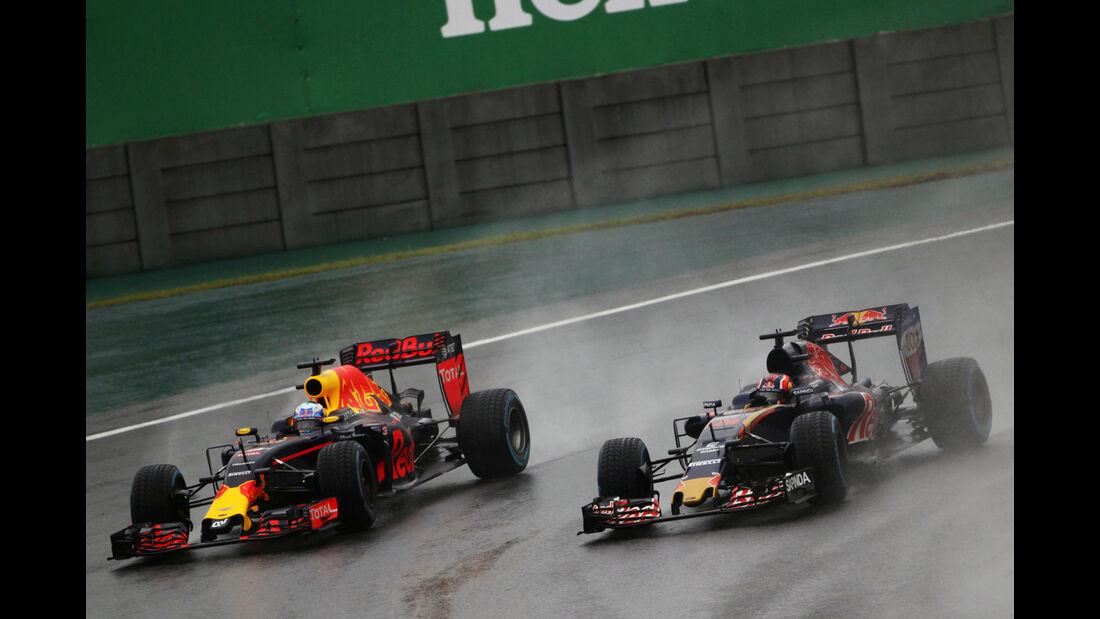 Daniel Ricciardo - Red Bull - GP Brasilien 2016 - Interlagos - Rennen