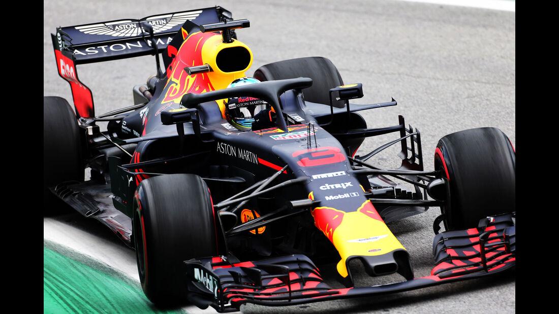 Daniel Ricciardo - Red Bull - GP Brasilien - Interlagos - Formel 1 - Freitag - 9.11.2018