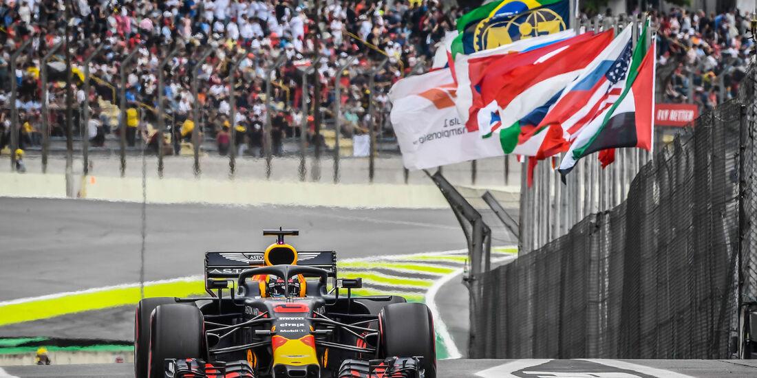Daniel Ricciardo - Red Bull - GP Brasilien - Interlagos - Formel 1 - Samstag - 10.11.2018