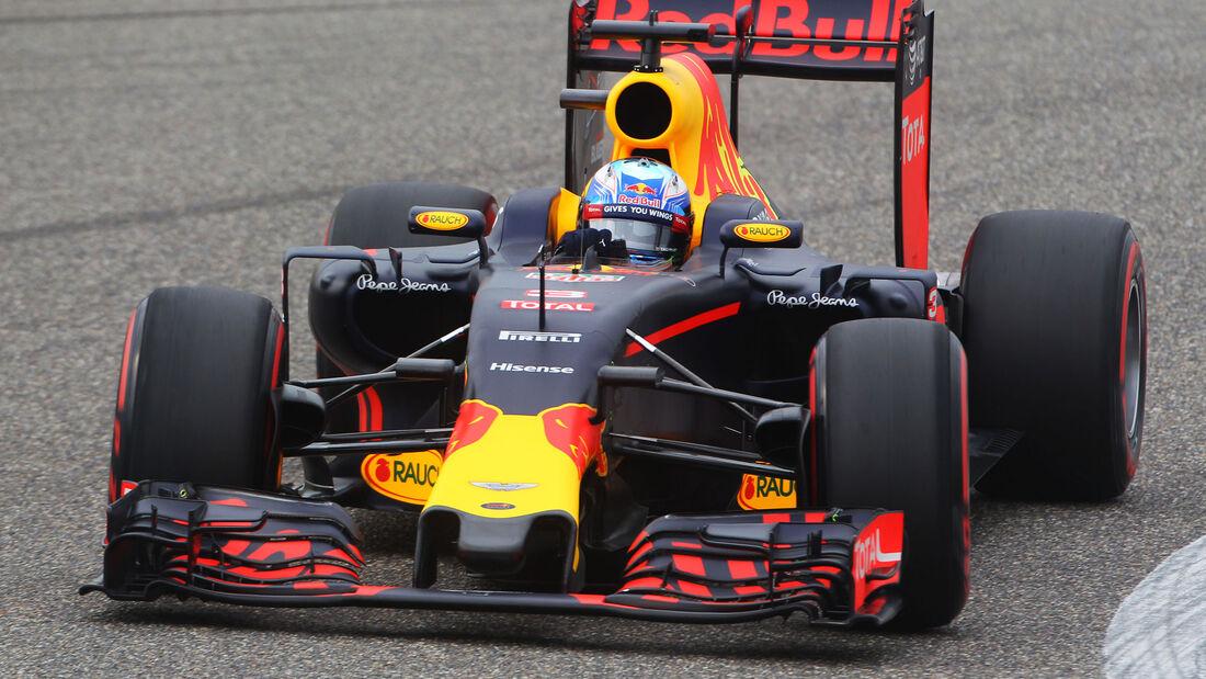 Daniel Ricciardo - Red Bull - GP China 2016 - Qualifying