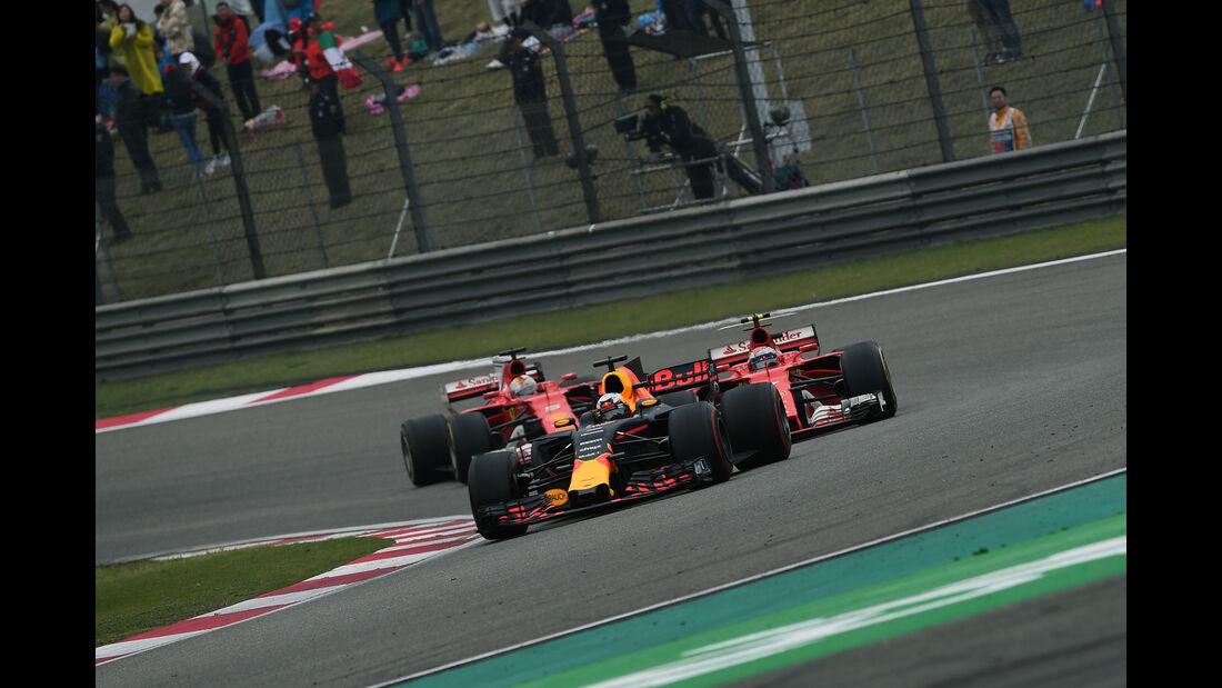 Daniel Ricciardo - Red Bull - GP China 2017 - Shanghai - Rennen