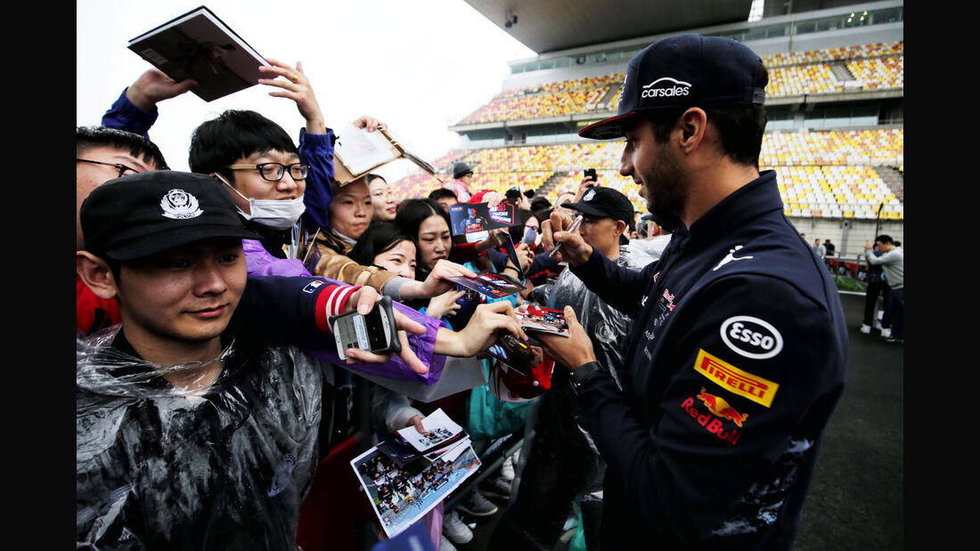 Daniel Ricciardo - Red Bull - GP China - Shanghai - 6.4.2017