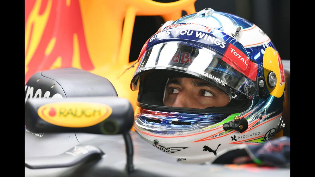 Daniel Ricciardo - Red Bull - GP China - Shanghai - Freitag - 15.4.2016