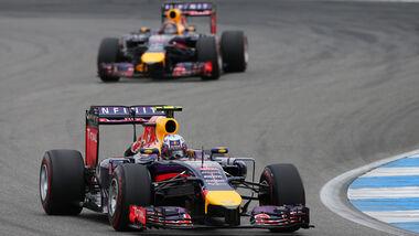 Daniel Ricciardo - Red Bull - GP Deutschland 2014