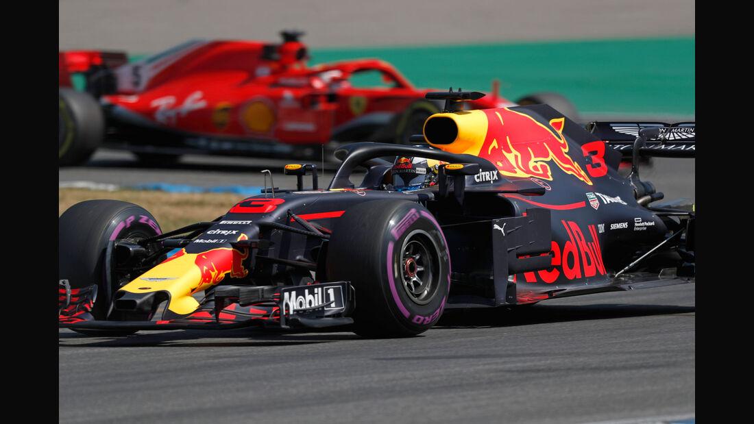 Daniel Ricciardo - Red Bull - GP Deutschland - Hockenheim - Formel 1 - Freitag - 20.7.2018