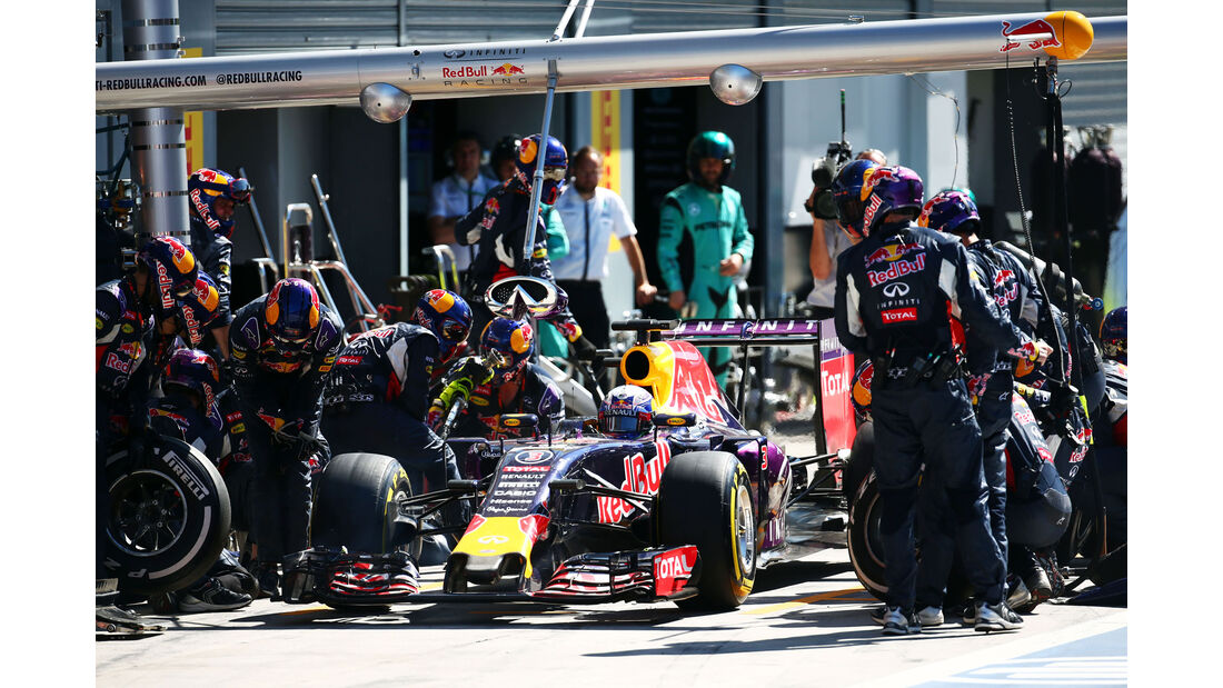 Daniel Ricciardo - Red Bull - GP Italien 2015 - Monza