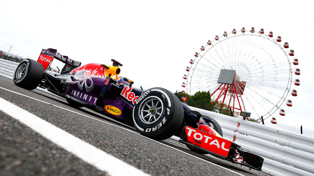 Daniel Ricciardo - Red Bull - GP Japan 2015
