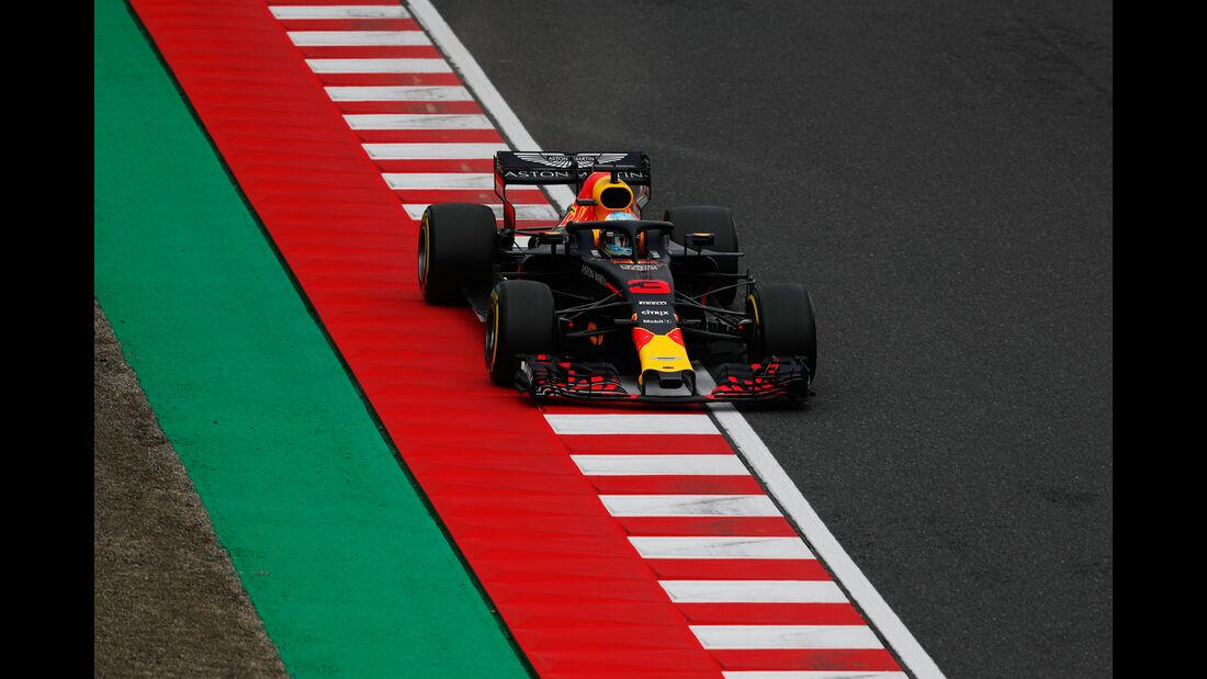 Daniel Ricciardo - Red Bull - GP Japan - Suzuka - Formel 1 - Samstag - 6.10.2018