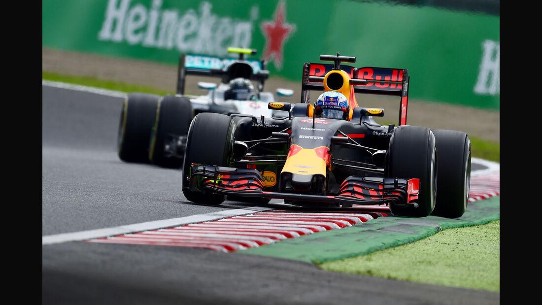 Daniel Ricciardo - Red Bull - GP Japan - Suzuka - Freitag - 7.10.2016