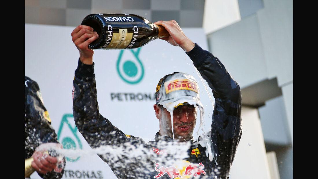 Daniel Ricciardo - Red Bull - GP Malaysia 2016