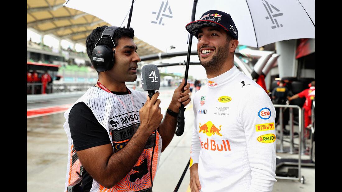 Daniel Ricciardo - Red Bull - GP Malaysia - Sepang - 29. Oktober 2017