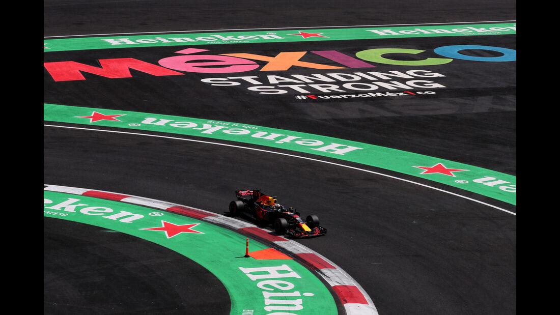 Daniel Ricciardo - Red Bull - GP Mexiko 2017 - Qualifying