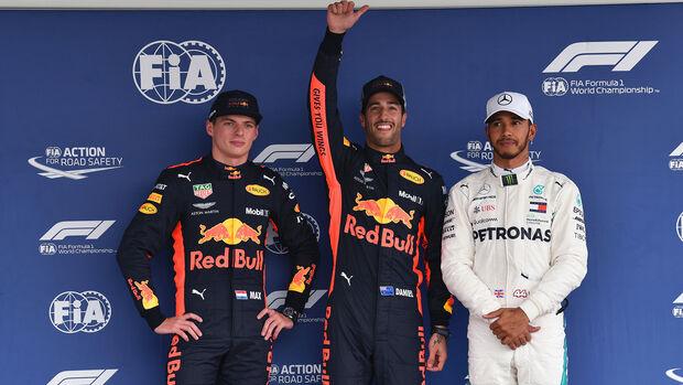 Daniel Ricciardo - Red Bull - GP Mexiko 2018