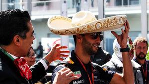 Daniel Ricciardo - Red Bull - GP Mexiko - Formel 1 - Donnerstag - 26.10.2017