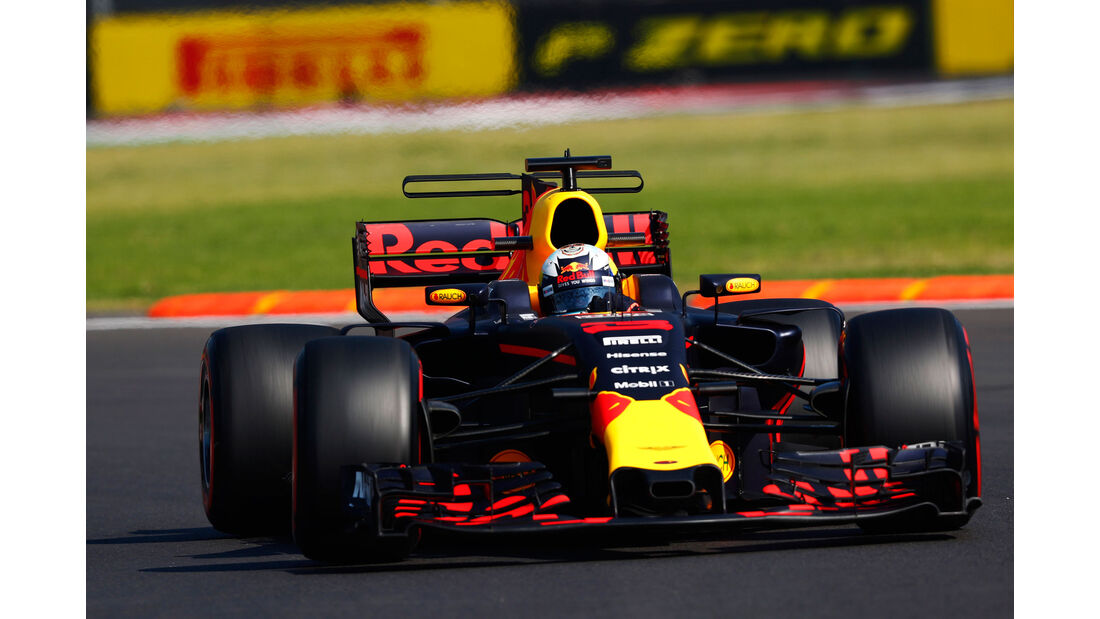Daniel Ricciardo - Red Bull - GP Mexiko - Formel 1 - Freitag - 27.10.2017