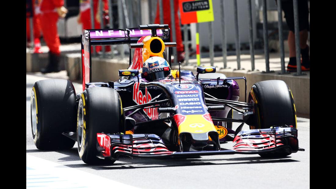 Daniel Ricciardo - Red Bull - GP Österreich - Formel 1 - Freitag - 19.6.2015