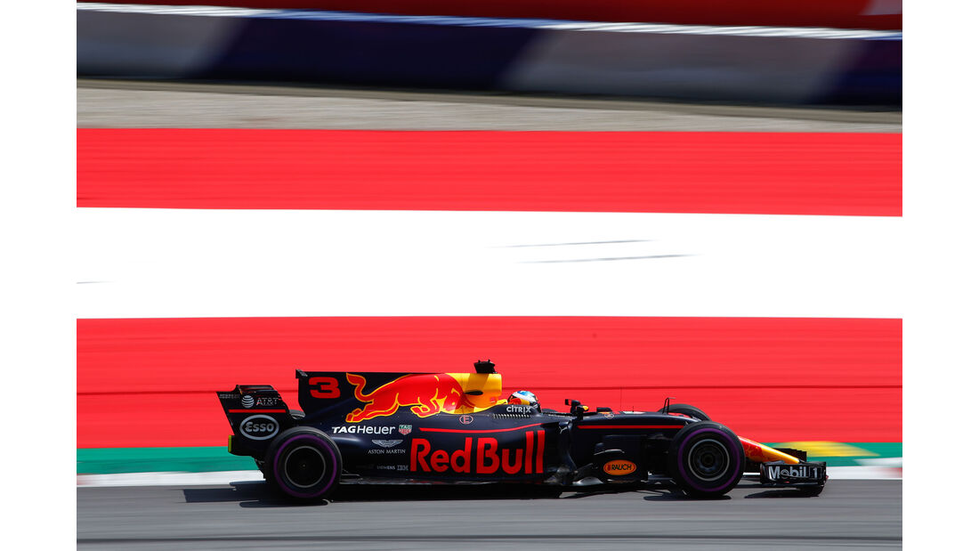 Daniel Ricciardo - Red Bull - GP Österreich - Spielberg - Formel 1 - Freitag - 7.7.2017