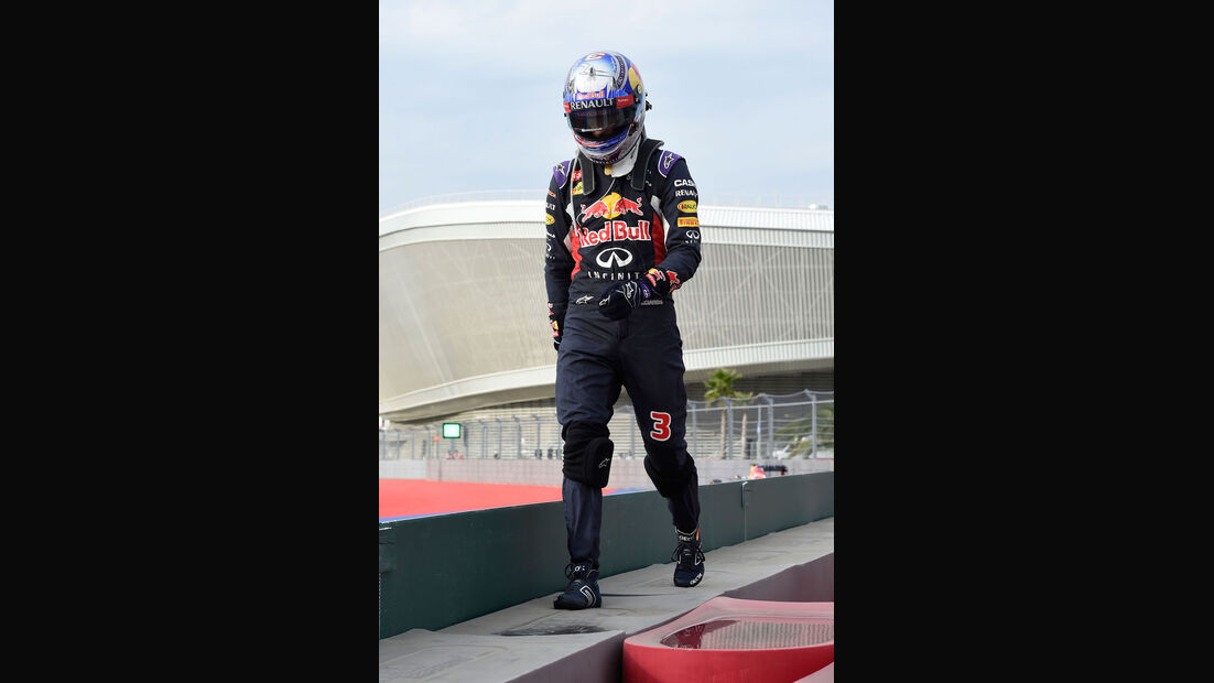 Daniel Ricciardo - Red Bull - GP Russland 2015 - Sochi - Rennen