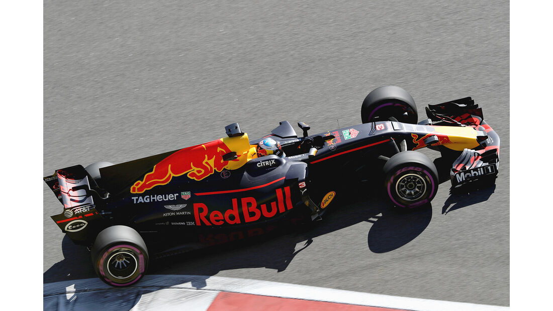 Daniel Ricciardo - Red Bull - GP Russland 2017