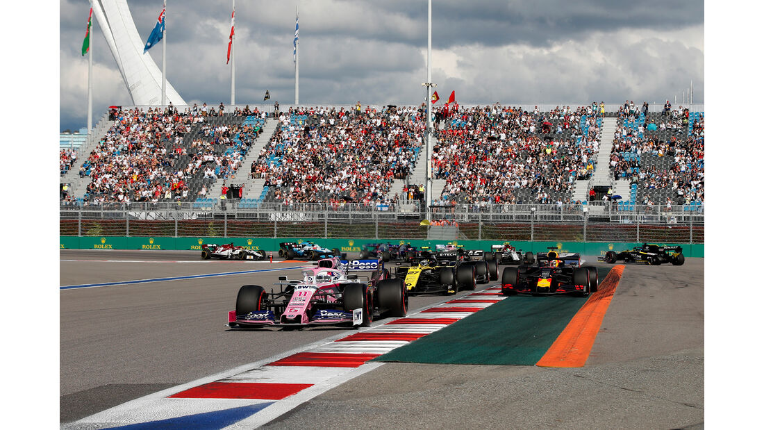 Daniel Ricciardo - Red Bull - GP Russland 2019 - Sochi Autodrom - Rennen