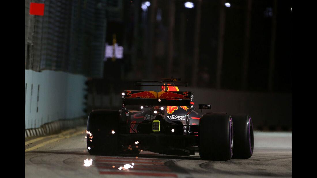 Daniel Ricciardo - Red Bull - GP Singapur 2017 - Rennen