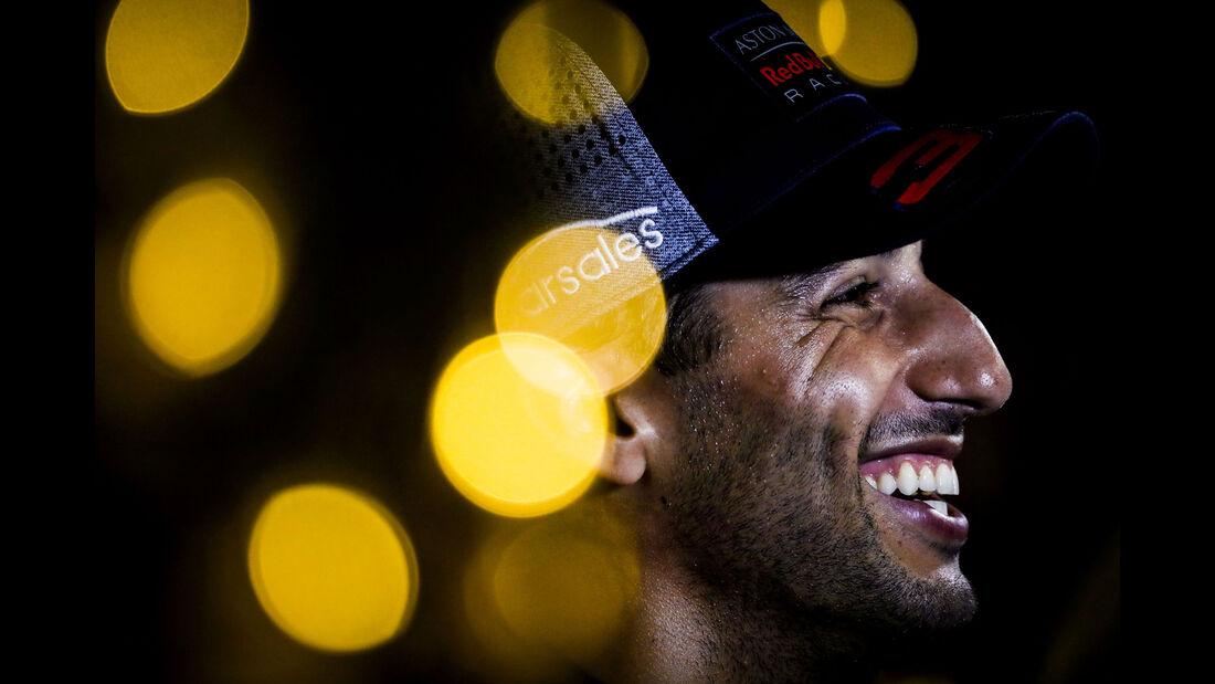 Daniel Ricciardo - Red Bull - GP Singapur 2018