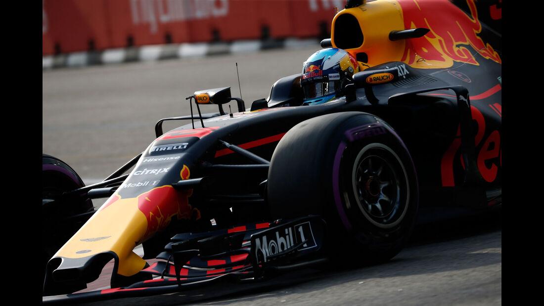 Daniel Ricciardo - Red Bull - GP Singapur - Formel 1 - Freitag - 15.9.2017