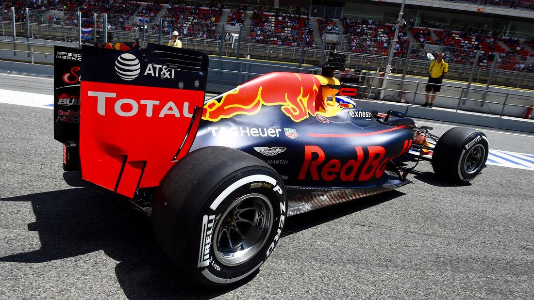 Daniel Ricciardo - Red Bull - GP Spanien 2016