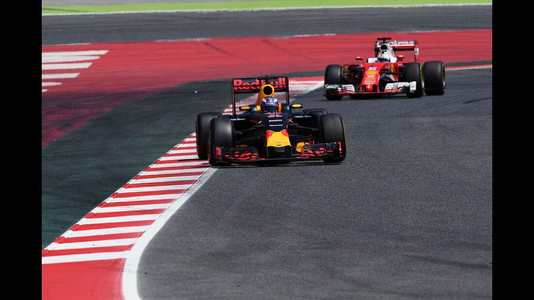 Daniel Ricciardo - Red Bull - GP Spanien 2016 - Barcelona - Sonntag - 15.5.2016