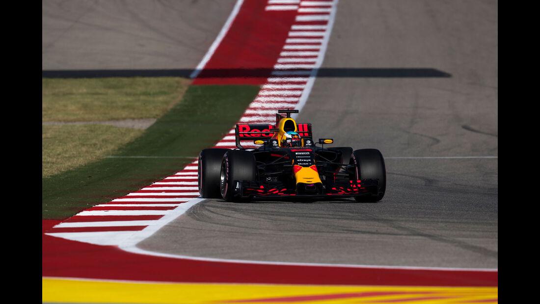 Daniel Ricciardo - Red Bull - GP USA 2017 - Qualifying