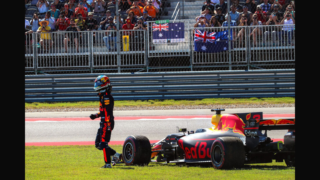 Daniel Ricciardo - Red Bull - GP USA 2017 - Rennen