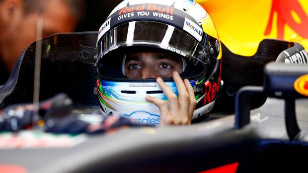 Daniel Ricciardo - Red Bull - GP Ungarn 2017 - Budapest - Qualifying