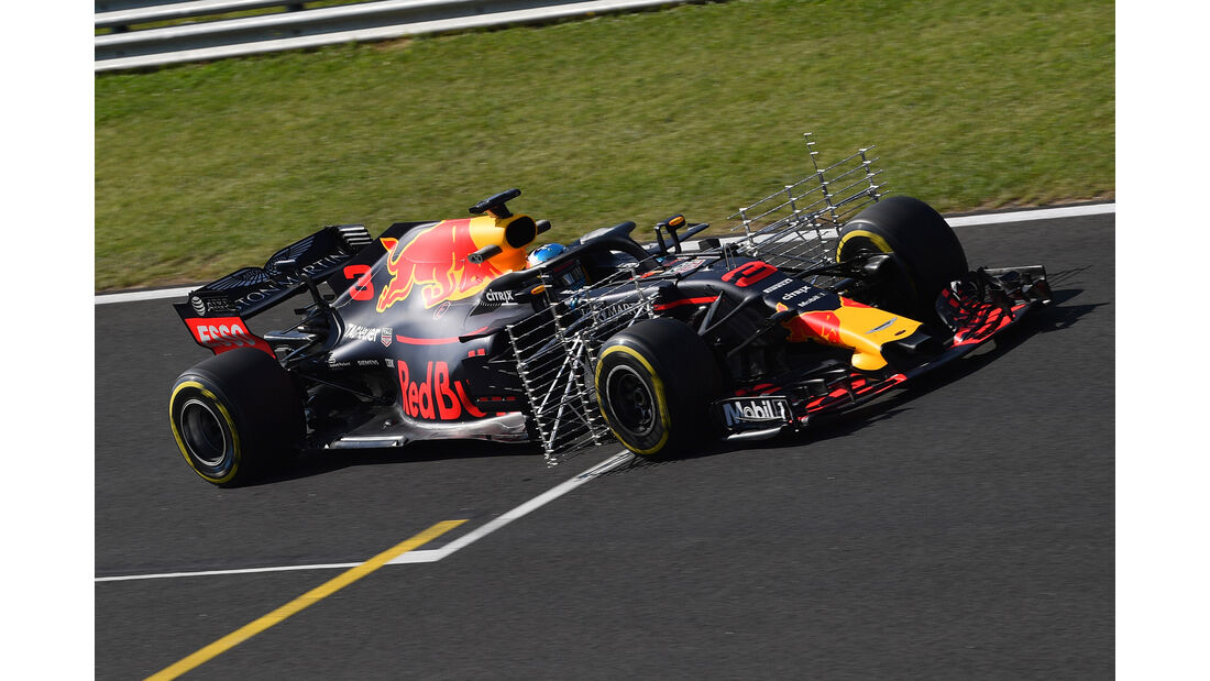 Daniel Ricciardo - Red Bull - GP Ungarn - Budapest - F1-Test - 31. Juli 2018