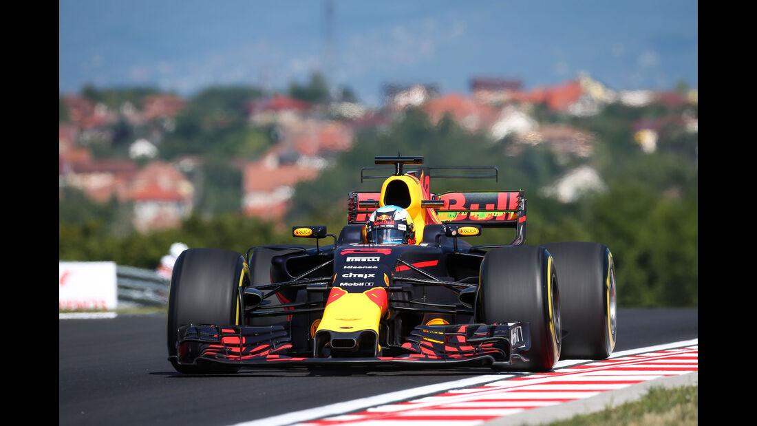 Daniel Ricciardo - Red Bull - GP Ungarn - Budapest - Formel 1 - 28.7.2017