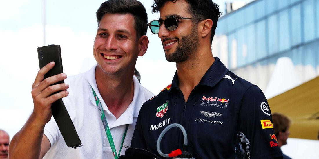 Daniel Ricciardo - Red Bull - GP Ungarn - Budapest - Formel 1 - Freitag - 28.7.2017