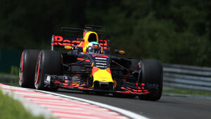Daniel Ricciardo - Red Bull - GP Ungarn - Budapest - Freitag - 28.7.2017