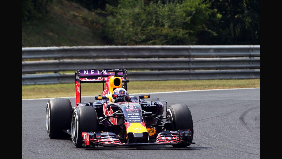 Daniel Ricciardo - Red Bull - GP Ungarn - Budapest - Qualifying - Samstag - 25.7.2015