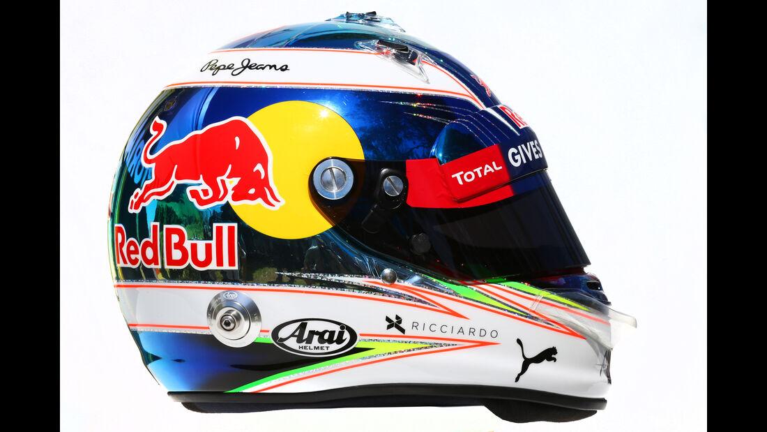 Daniel Ricciardo - Red Bull - Helm - Formel 1 - 2016