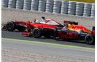 Daniel Ricciardo - Red Bull - Sebastian Vettel - Ferrari - GP Spanien 2016 - Barcelona - Sonntag - 15.5.2016