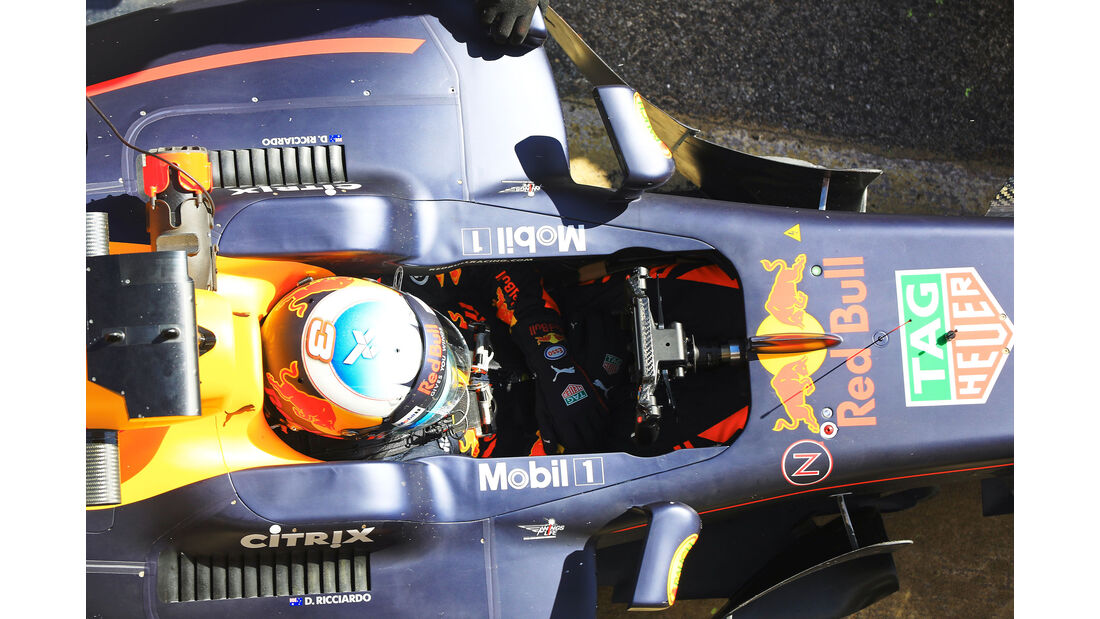 Daniel Ricciardo - Red Bull - Testfahrten - Barcelona